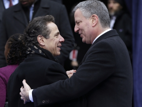 DE BLASIO BACKS CUOMO: WANTS CONSERVATIVES TO 'GET OUT!'