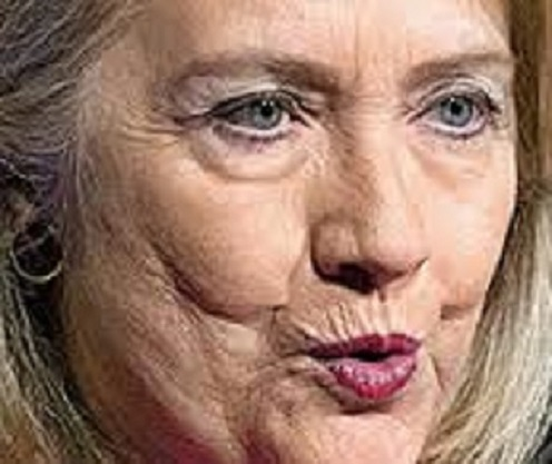 HILLARY CLINTON IS UGLY AS HELL AND OBAMA IS ARROGANT SAYS GOOGLE!