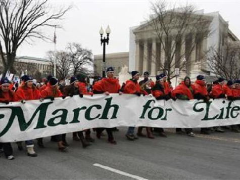 AS PRO-LIFERS MARCH ON WASHINGTON, OBAMA SAYS ABORTION HELPS WOMEN 'FULFILL THEIR DREAMS'