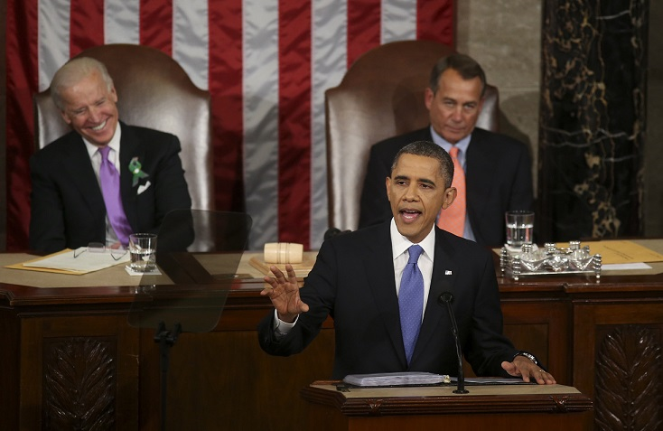 AP Fact Check Pulverizes Obama's State Of The Union Address ( AP Video)