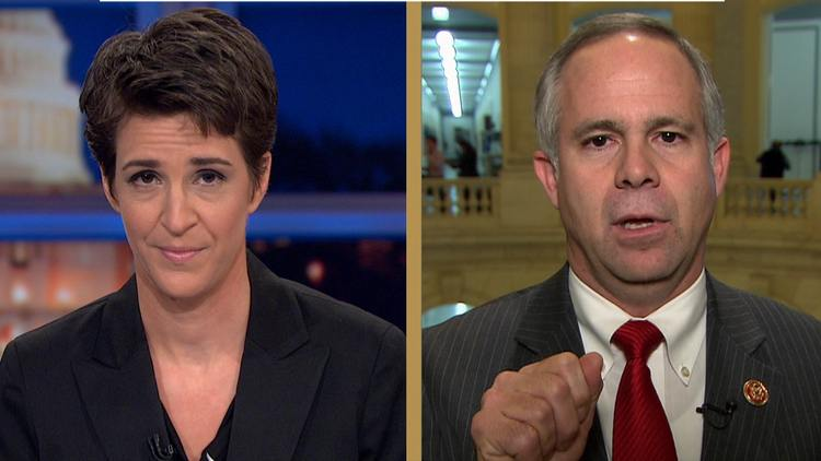 """CONGRESSMAN TO MADDOW-""""YOU'RE A CHEERLEADER FOR OBAMA, YOU'RE NOT A JOURNALIST!"""""""