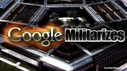 GOOGLE JOINS FORCES WITH NSA AND DARPA AS MILITARY CONTRACTOR!