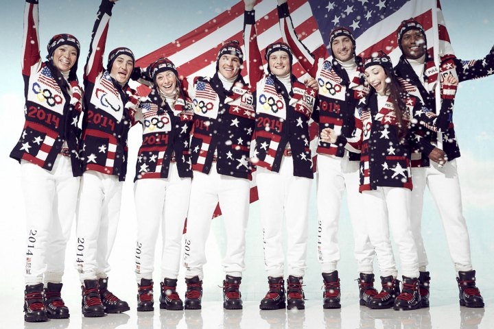 """U.S. STATE DEPT. TO OLYMPIANS: """"HIDE YOUR RED WHITE AND BLUE!"""""""