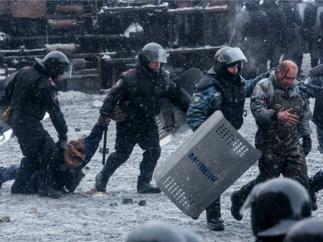 BREAKING: RUSSIA WARNS U.S. NOT TO INTERFERE IN UKRAINE