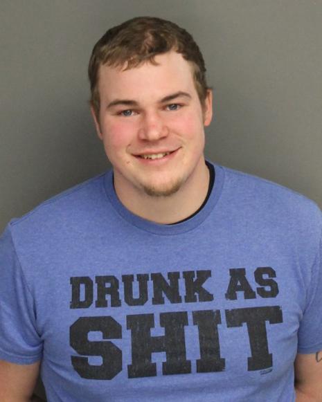 "DUMBASS AWARD! Motorist, 21, Wearing A ""Drunk As Shit"" T-Shirt Is Arrested For Drunk Driving!"