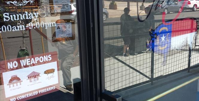 """NC Restaurant With """"No Weapons"""" Sign Gets Nasty Surprise They Never EXPECTED To Happen"""