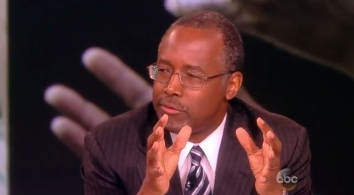 BEN CARSON RILES UP 'WHOOPIE' WITH WELFARE TRUTH-HAS CONSERVATIVES CHEERING ON 'THE VIEW'!