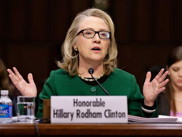 HILLARY CLINTON: I'M THE REAL VICTIM OF BENGHAZI!