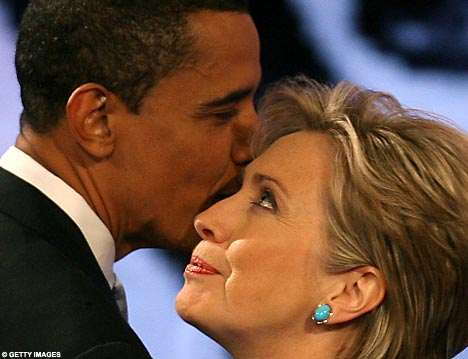 HILLARY CLINTON: OBAMA AND I RESTORED AMERICA'S LEADERSHIP IN THE WORLD!