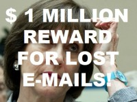 BREAKING- $1 MILLION OFFERED FOR 'LOST' IRS EMAILS!