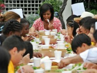 MICHELLE OBAMA: I COULDN'T FEED MY KIDS RIGHT–EVEN WITH A HARVARD DEGREE!