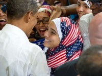 OBAMA'S APPROVAL RATINGS AT HISTORIC HIGHS! AMONG MUSLIMS…