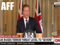 [WATCH] BREAKING! Cameron FULL Press Conference: UK Raises Terror Threat Level to 'SEVERE!'
