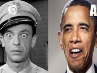 OBAMA IS 'BARNEY FIFE' IN THE FACE OF ISIS THREAT!