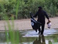 MAN CROSSES U.S. BORDER DRESSED AS ISIS TERRORIST CARRYING HEAD!