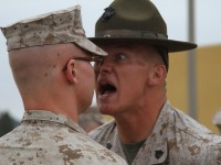 [WATCH] CADET GETTING 'DRILLED' BY DRILL INSTRUCTOR!