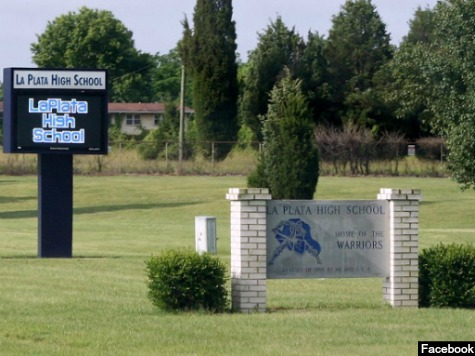 La_Plata_High_School_Maryland_Sign_Facebook