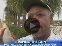 [WATCH] 'GUN GRABBER' ASSAULTS LEGAL GUN OWNER AT WALMART, GETS ARRESTED!