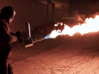 HELL YEAH! Handheld FLAMETHROWER Is About To Hit the Market! [VIDEO]