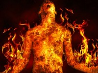 MUSLIMS THROW CHRISTIAN SLAVE INTO BLAZING FURNACE AND COOK HIM ALIVE!