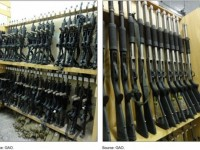U.S. firearms supplied to the Interior Ministry in Yemen, which has received $500 million in aid from the United States since 2007 under an array of Defense Department and State Department programs. (Government Accountability Office)