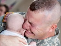 WATCH These Military Heroes Holding Their Newborns For The FIRST Time!