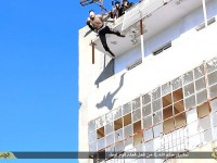 ISIS MANIACS THROW GAY MAN OFF BUILDING TO HIS DEATH!