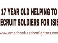 17 YEAR OLD HELPS RECRUIT SOLDIERS FOR ISIS!