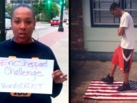 OUTRAGEOUS! Video Of Black Woman Stomping On The American Flag Yelling 'F*** Yo Flag!' Hits Social Media…