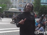 [WATCH] BLACK THUG TELLS WHITES… BOW DOWN TO BLACKS, YOU'RE ALL GONNA DIE