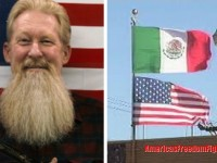 When This Veteran Saw A Mexican Flag Flying Over A U.S. Flag He Takes IMMEDIATE Action… (Video)