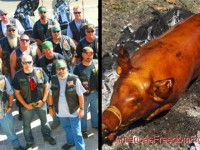 LOL: Infidel Biker Club Holds Ramadan BBQ And Pig Roast… Muslims Aren't Thrilled