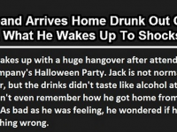 Man Comes Home Drunk Thinking His Wife Will Kill Him, But Then THIS Happened… AMAZING