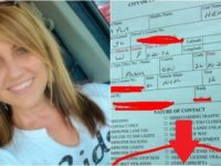 Woman SHOCKED By What Officer Wrote At Bottom Of Her Speeding Ticket…