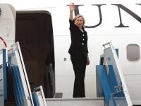 HILARIOUS VIDEO! Hillary Clinton Boards Airplane… Then THIS Happened
