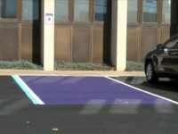 When You See A Purple Parking Space Do NOT Park In It… Here's The EPIC Reason Why