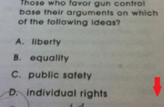 This Student's EPIC Answer On Gun Control Test Has Liberal Teacher FURIOUS…