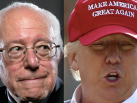 [WATCH] Fearless Trump Supporter Crashes Bernie Sanders Rally With Best Anti-Obama Sign EVER…