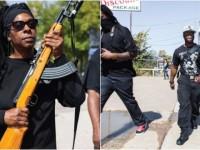 ALERT: Armed Black Panthers GANG Patrolling Neighborhoods