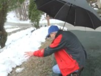 What This Man Finds While Shoveling Snow From His Driveway Will Make You Believe In Miracles