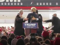 """VIDEO: Trump Attacked In Ohio: """"Obama is Unleashing His Embedded Socialists To Deliver Chaos"""""""