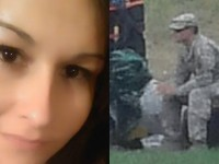 Woman Sees Soldier Sitting On Side Of Road, Stunned By What She See's Him Doing