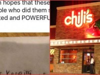Cops Get Strange Message On Napkin, Then Customers Give Them EXACTLY What They Deserve