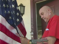 WWII VETERAN Threatened By LIBERALS With Eviction Over American Flag, Then ALL HELL BREAKS LOOSE