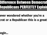 This Test Perfectly Explains The Difference Between A Democrat And A Republican