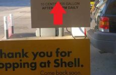 Gas Station Puts Up This 'Controversial' Sign That Has Town FURIOUS… [VID]