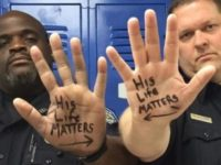 Officer In Viral 'His Life Matters' Photo VICIOUSLY Attacked By BLM Thug… [VIDEO]