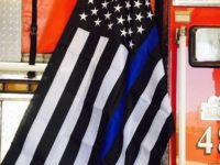 Firefighters FORCED To Remove Police Flag Honoring The Fallen, So They Do THIS Instead…