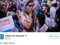 Hillary Posts 'History-Making' Photo Of Crying Woman, But We Just Found Out Who She REALLY Is…