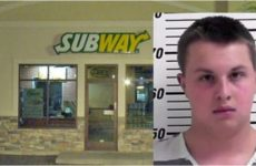 Cop Stops At 'Subway' For Lunch, Lib Worker Slips THIS Into His Drink… [VID]